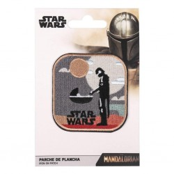 STAR WARS - The Mandalorian Levitate - Iron-on Patch 186009  Pin & Spelden