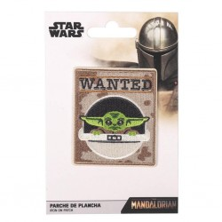 STAR WARS - The Mandalorian Child - Iron-on Patch 186010  Pin & Spelden