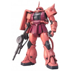 GUNDAM - Model Kit - MG 1/100 - MS-06S Char's Zaky Ver. 2.0 - 18CM