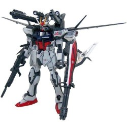 GUNDAM - Model Kit - MG 1/100 - Strike Gundam + IWSP - 18 CM