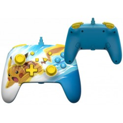 POWER A - Wired Enhanced Controller Pikachu Charge for Nintendo Switch 186135  Switch Controllers
