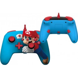 POWER A - Wired Enhanced Controller Mario Puch for Nintendo Switch 186141  Switch Controllers