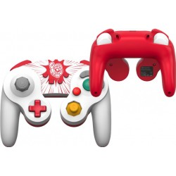POWER A - Wired Controller GameCube Style Mario for Nintendo Switch 186145  Switch Controllers