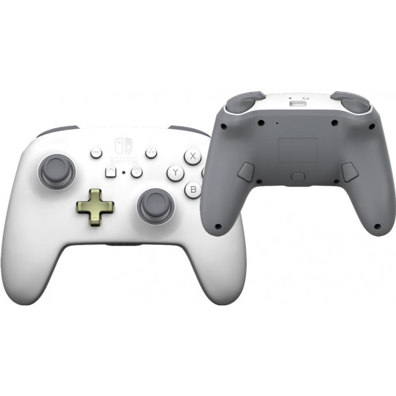 POWER A - Draadloze Enhanced Controller White for Switch