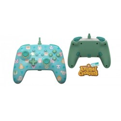 POWER A - Wired Enhanced Controller Animal Crossing for NintendoSwitch 186131  Switch Controllers