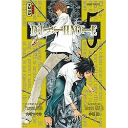 DEATH NOTE - Tome 5 186165  Mangaboeken