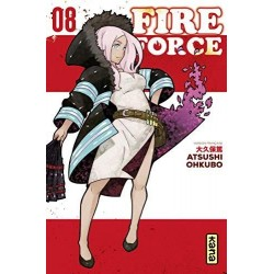 FIRE FORCE - Tome 8 186300  Fire Force