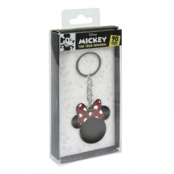 DISNEY - Metal Keychain - Minnie Bow 171077  Sleutelhangers