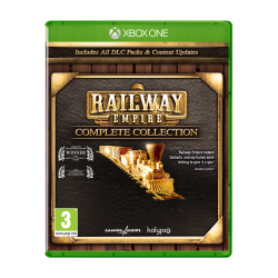 Railway Empire Complete Collection (Box UK ) - PC DVD ROM  187337  Xbox One