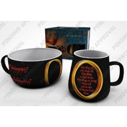 LORD OF THE RINGS - Breakfast Set - One Ring 166501  Drinkbekers - Mugs