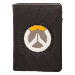 OVERWATCH - Basic Black Vertical Wallet 166454  Portefeuilles