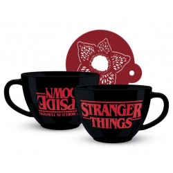 STRANGER THINGS - Upside Down - Cappuccino Mok 630 ml