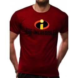 THE INCREDIBLES - T-Shirt IN A TUBE- Logo (XXL) 166396  T-Shirts Incredibles