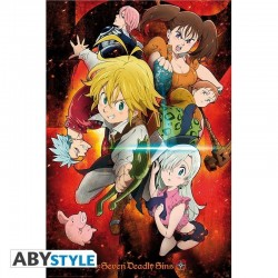 SEVEN DEADLY SINS - Characters - Poster '91x61cm' 188373  Posters