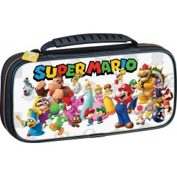Official Mario & Friends White Travel Case for Nintendo Switch 188658  Nintendo Switch Accessoires