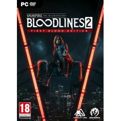 Vampire:The Masquerade Bloodlines 2 - First Blood Edition - PC 188676  PC Games