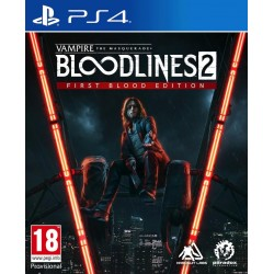 Vampire:The Masquerade Bloodlines 2 - First Blood Edition - Playstation 4  188677  Playstation 4