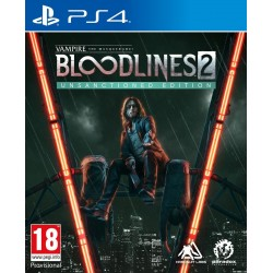 Vampire:The Masquerade Bloodlines 2 - Unsanctioned Edition (Steelbook) Playstation 4  188680  Playstation 4