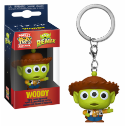 TOY STORY - Pocket Pop Keychain - Alien Remix Woody 188738  Sleutelhangers