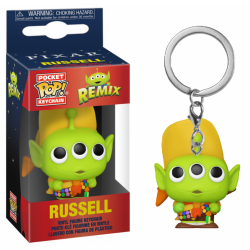 TOY STORY - Pocket Pop Keychain - Alien Remix Russell