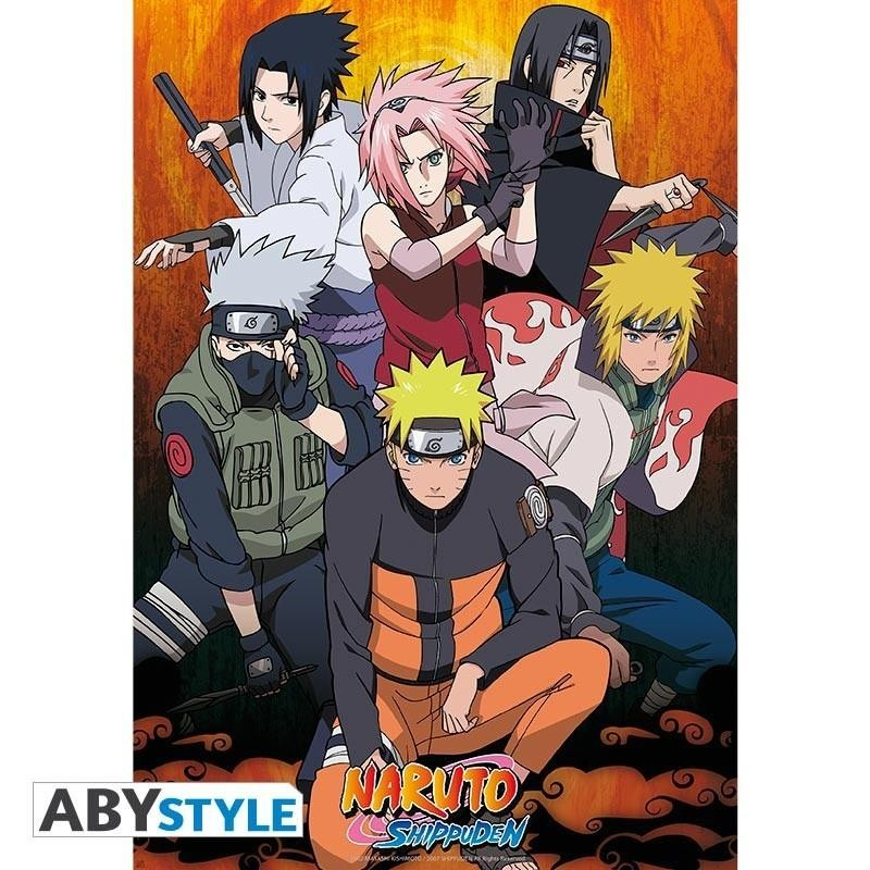 NARUTO SHIPPUDEN - Poster 91X61 - Groupe 166335  Posters