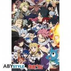 FAIRY TAIL - Poster 91X61 - Fairy Tail Vs Other Guilds 166332  Posters