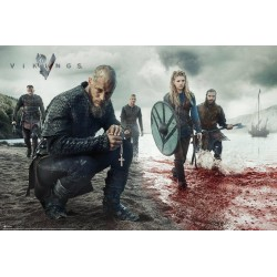 VIKINGS - Blood Landscape - Poster 61x91.5cm