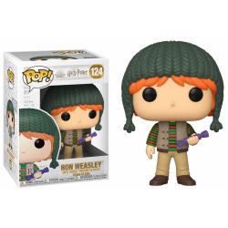 HARRY POTTER - Funko Pop N° 124 - Holiday Ron Weasley