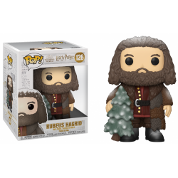 HARRY POTTER - Funko Pop N° 126 - Holiday Rubeus Hagrid 15cm