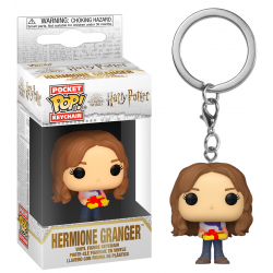 HARRY POTTER - Pocket Pop Keychain - Holiday Hermione Granger 188943  Funko Pops