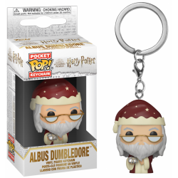 HARRY POTTER - Pocket Pop Keychain - Holiday Albus Dumbledore 188945  Funko Pops