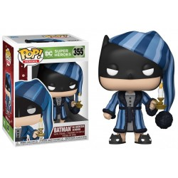 DC COMICS - Bobble Head POP N° 355 - Holiday Scrooge Batman 188948  Funko Pops