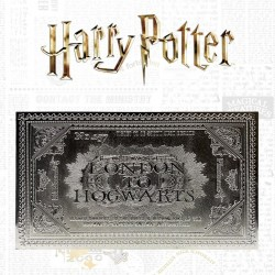 Harry Potter - Hogwarts Express - Silver Plated Collector Ticket