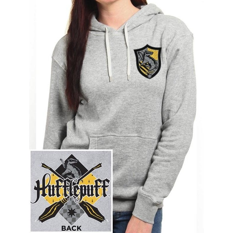 HARRY POTTER - Pullover Hoodie GIRL - Hufflepuff (XXL) 166273  Hoodies