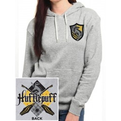 HARRY POTTER - Pullover Hoodie GIRL - Hufflepuff (M)