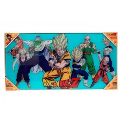 DRAGON BALL - GLASS PRINT - Heroes - 60X30 cm