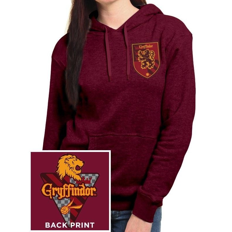 HARRY POTTER - Hooded Sweatshirt GIRL - Gryffindor (XL) 166263  Sweatshirts