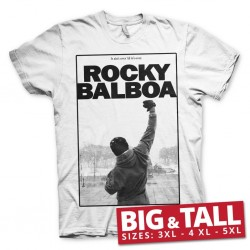 ROCKY BALBOA - T-Shirt Big & Tall - It' Ain't Over (3XL) 186076  T-Shirts