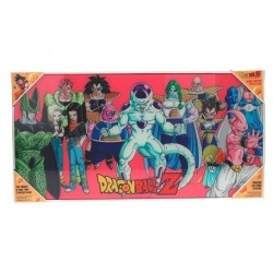 DRAGON BALL - GLASS PRINT - Villains - 60X30 cm