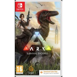 ARK Survival Evolved (code in box) - Nintendo Switch 189396  Nintendo Switch