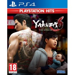 Yakuza 6: The Song of Life HITS - Playstation 4 189403  Playstation 4