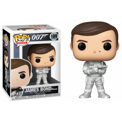 JAMES BOND - Funko Pop N° 1009 - Roger Moore (Moonraker)