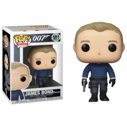 JAMES BOND - Funko Pop N° 1011 - James Bond (No Time to Die)