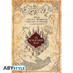 HARRY POTTER - Marauder's Map - Poster '91x61' 189621  Posters