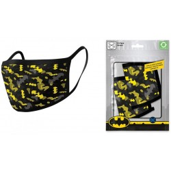 DC COMICS - Batman Camo Yellow - Premium Mondmaskers Set van 2