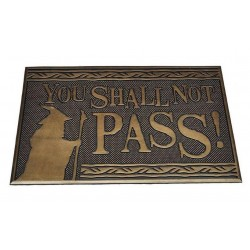 LORD OF THE RINGS - You Shall Not Pass - Rubber Deurmat '40x60cm' 189852  Deurmatten