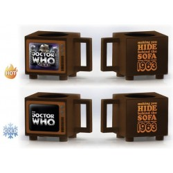 DOCTOR WHO - Hide Behind the Sofa - Heat Changing Beker 500ml