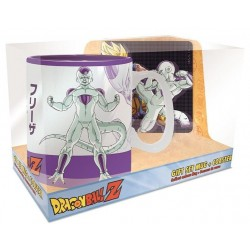 DRAGON BALL - Goku Frieza - Gift Set Mug Heat Change 460ml + Coaster