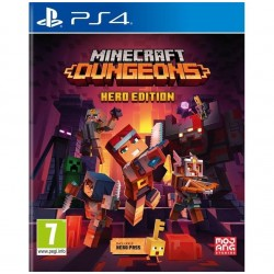 Minecraft Dungeons Hero Edition - Playstation 4 190167  Playstation 4
