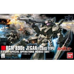 GUNDAM - HGUC 1/144 RGM-89DE Jegan Ecoas Type - Model Kit 190201  Real Grade (RG)